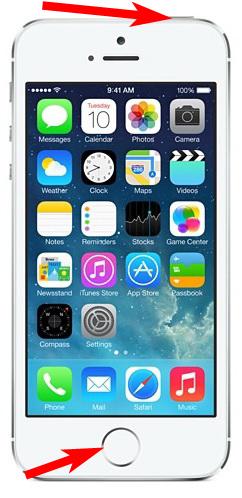 Принудительное включение iPhone