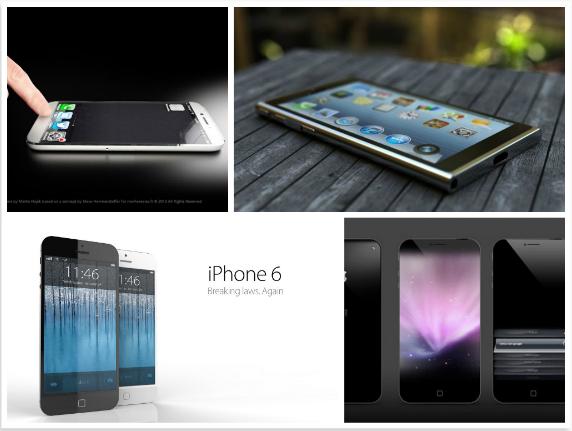 Варианты будущего iPhone 6