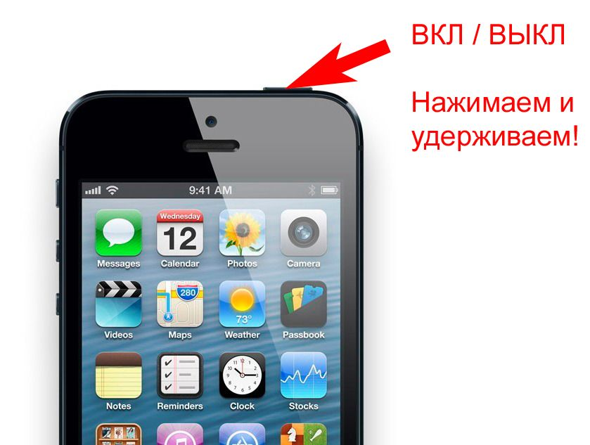 Как включить и выключить iPhone?