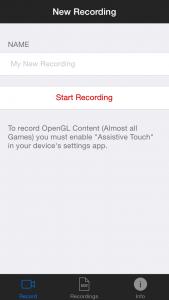 iRec - запись экрана с iPhone и iPad