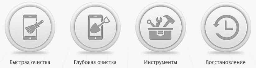 Компьютерная программа для чистки iPhone и iPad