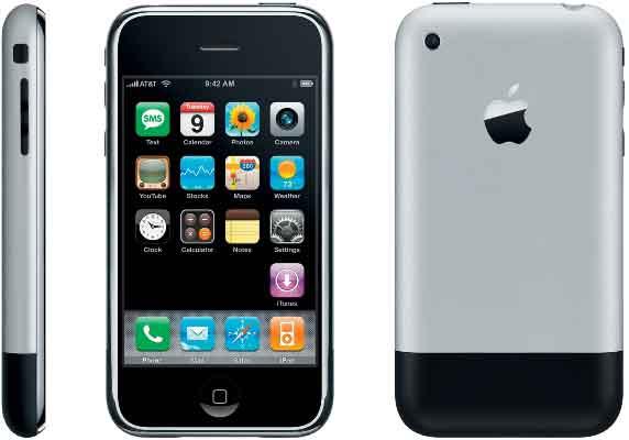 Так выглядит первый iPhone