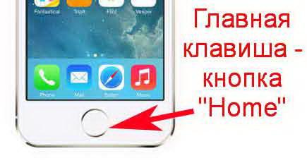 "Кнопка ""Home"" для iPhone"