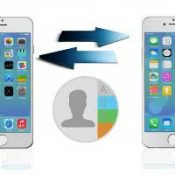 Копирование контактов с iPhone на iPhone
