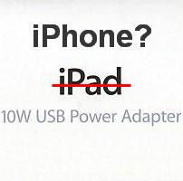 Подходит ли зарядка от iPad для iPhone?