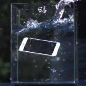 iPhone полностью погрузился в воду