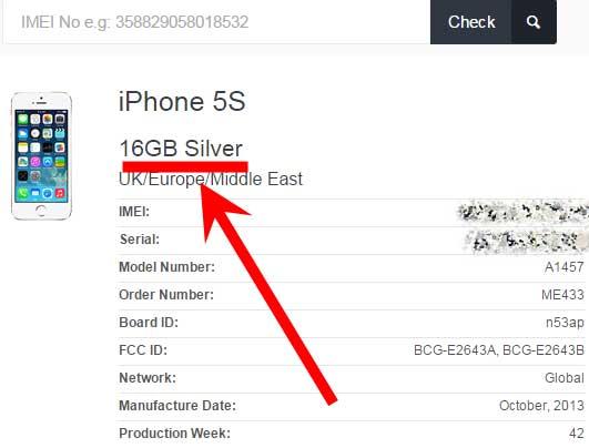 Специальные сайты расскажут о количестве гигабайтов в айфоне