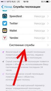 Системные службы iPhone следят за вами