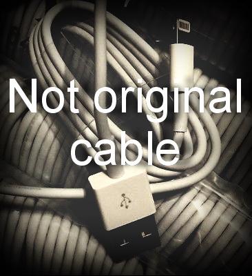 """Неоригинальный кабель может стать причиной глюков """"экрана"""""""