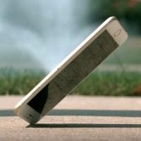 iPhone выключился после падения