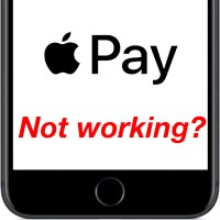 Не работает Apple Pay в iPhone
