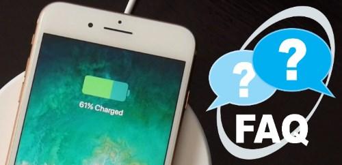 Беспроводная зарядка iPhone - вопросы и ответы