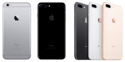 Выбирать нужно между iPhone 7 и 8 Plus