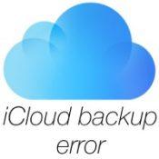 Сбой копирования iCloud - недостаточно пространства