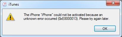 Ошибка 0XE8000013 - неправильная прошивка микросхемы памяти
