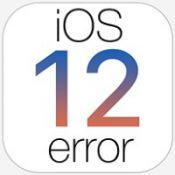 Ошибки обновления iOS 12