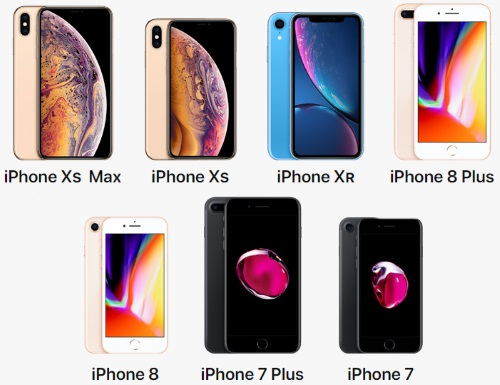 Все iPhone, которые продаются на сайте Apple в 2019 году