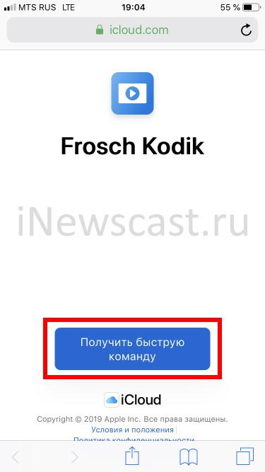 Быстрая команда Frosch Kodik