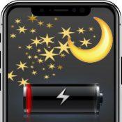 iPhone разряжается за ночь