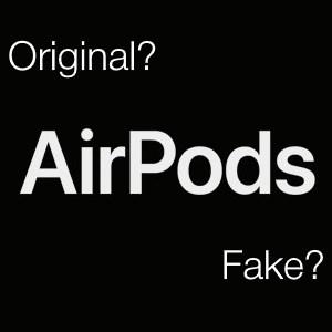 Как отличить AirPods от подделки