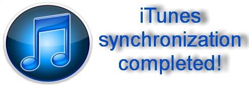 Синхронизируем при помощи iTunes