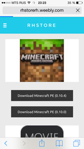 Download minecraft PE