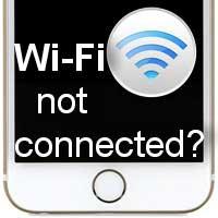 iPhone не удается подключить к Wi-Fi