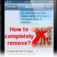 Удаляем смс на iPhone из поиска Spotlight