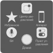 Кнопка Home на дисплее iPhone или iPad