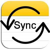 Синхронизация заметок в iOS