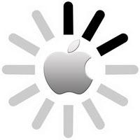 Знак загрузки на iPhone