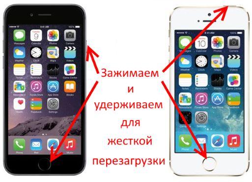 Как сделать жесткую перезагрузку iphone 7